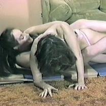 Joan Wise Classic Female Wrestling Video 104