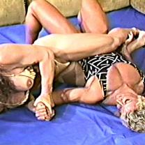 Joan Wise Classic Female Wrestling Video 164