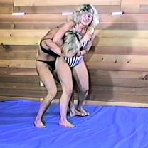 Joan Wise Classic Female Wrestling Video 185