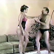 Joan Wise Classic Female Wrestling Video 26