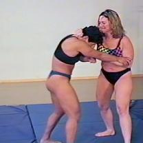 Joan Wise Classic Female Wrestling Video 269