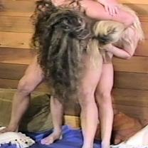 Joan Wise Classic Female Wrestling Video 272