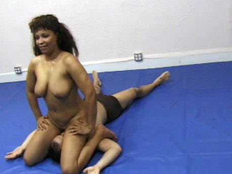 Joan Wise Classic Female Wrestling Video 549